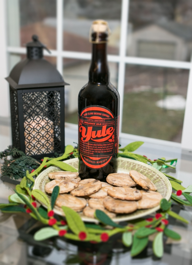 Figgy Yule Cookies paired with Yule, photo by Heather Hanson
