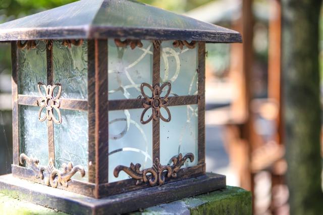 Chinese blue lantern