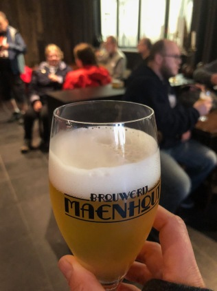 Our beer tour at the Brouwerij Maenhout